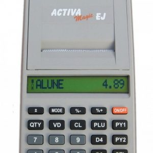 Casa de marcat Activa Magic EJ cu acumulator Li-ion