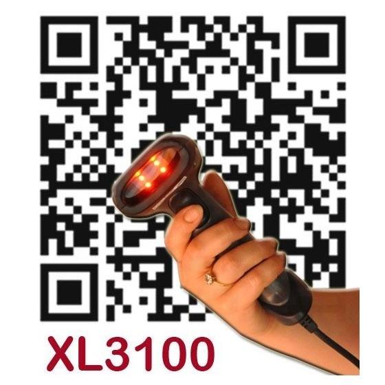 Scanner XL-3100 Cititor 2D 2